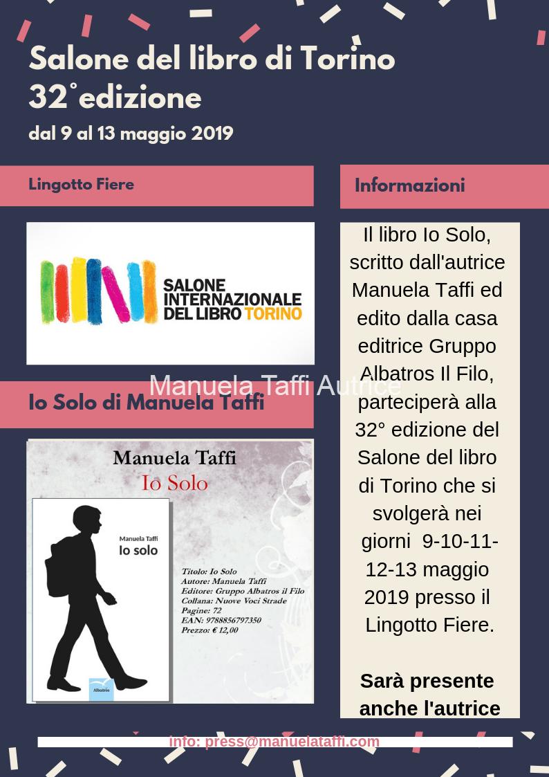 Salone-del-libro-Torino-2019Manuela Taffi Autrice